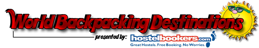 World Backpacking Destinations with HostelBookers.com